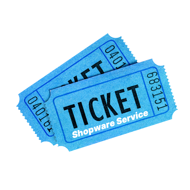 Shopware Service Ticket buchen